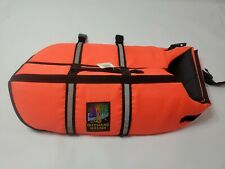 OUTWARD HOUND Pet Gear Dog Life Jacket Size Medium Adjustable Straps Reflective