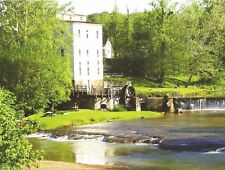 Postcard Indiana Madison Roller Mill Parke County Unused MINT