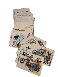 1970 Donruss ODDER ODD RODS Sticker Card COMPLETE SET #1-66 RARE Vintage