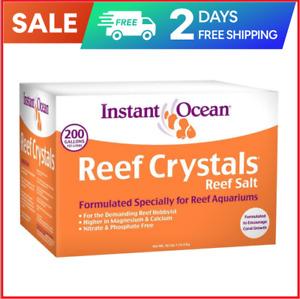 Instant Ocean Reef Crystals Reef Salt, Formulated Specifically for Reef Aquarium