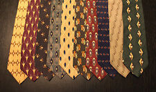Lot of 10 NEW Bill Blass Black Label Neck Ties with Patterns LD011