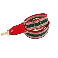 BENAVA Taschengurt Schultergurt Rot Bunt Verstellbar Schulterriemen 75-120 cm