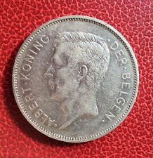 Belgique - Albert Ier -  Très Joli et rare 20 francs/ 4 belgas 1931 VL - pos A