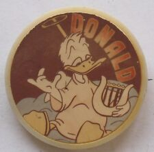 Russian pin DONALD DUCK CARTOON HERO Buttons Disney's badge Kid Child Old Lyre