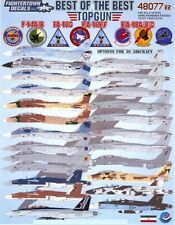 Fightertown Decals 1/48 Best Of The Best Top Gun U.S. Navy Fighters