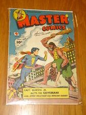 MASTER COMICS #90 VG (4.0) 1948 APRIL CAPTAIN MARVEL JR FAWCETT* B