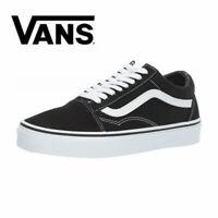 2020 NEW HOT Vans Old Skool Skate Shoes Black/White UK