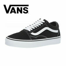 2020 NEW HOT Vans Old Skool Skate Shoes Black/White UK