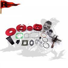 Red Pocket Bike 44mm Big Bore Kit Cylinder Assy 47cc 49cc Mini Dirt ATV Minimoto