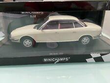 1972 AUDI NSU RO 80 Yellow 1:18 Minichamps NEUF neuf dans sa boîte