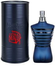 JPG JEAN PAUL GAULTIER ULTRA MALE INTENSE 75 ML EDT  - NO TESTER + OMAGGIO