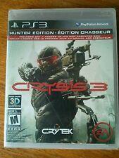 Crysis 3: Hunter Edition (Sony PlayStation 3, 2013) new in shrinkwrap