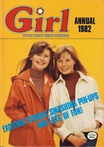 GIRL ANNUAL 1982 by No stated author Book The Cheap Fast Free Post