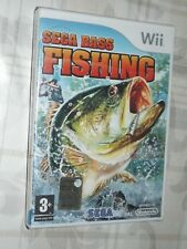 """ SEGA BASS FISHING "" WII"