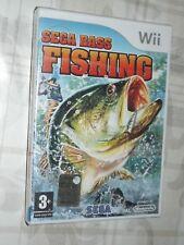 """ SEGA BASS FISHING "" WII"