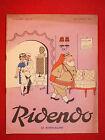 REVUE HUMORISTIQUE RIDENDO N°212 SEPT 1957 LE REMPLACANT