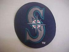 """Seattle Mariners 5"""" Fully Embroidered Circle Patch"""
