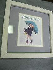 Good Housekeeping,April 1922, Framed Art Reproduction-Jessie Willcox-Smith,9 x 9