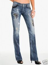 $248 NWT MARCIANO GUESS LIMITED EDITIONREBELLIOUS LUX BOOT CUT JEANS SIZE 27 28