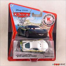 Disney Pixar Cars 2 Lewis Hamilton w/ Metallic Finish Silver Racer Series Kmart