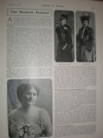 Photo article The Norwich Festival 1905