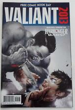 New  SIGNED  Robert Venditti  VALIANT 2013  Free Comic Book Day   Sneak Previews