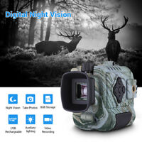 5x18 HD Digital Night Vision Monocular 8GB DVR Video Playback Function Telescope