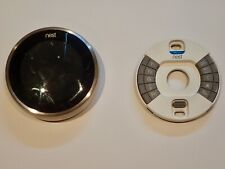 Nest T3007ES  3rd Generation Stainless Steel Thermostat & 1 Sensor - Used 1 Year