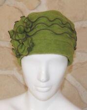 Chapeau vert neuf taille unique  étiqueté à 69€
