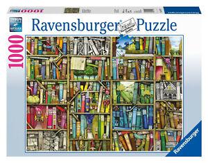 Puzzle Ravensburger : Bibliothèque Magique - 1000 Pièces