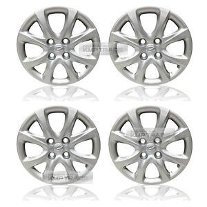 "OEM Genuine Parts 14"" Wheel Hub Cap Cover 4P For HYUNDAI 2012-14 Verna / Accent"