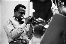 Tamaño A3-Miles Davis American Jazz Músico Regalo/pared decoración arte Impreso Poster
