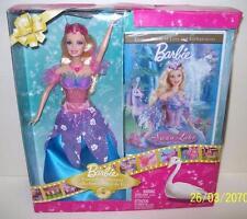Barbie Swan Lake Princess Odette Doll & DVD Gift Set Mattel 2009 NEW