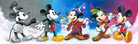 Holidays Disney Kids Cross Stitch Pattern,''Mickey's Creative Journey''