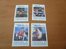 Grenada - Grenadines  Olympia 1992  Barcelona   Mi 1329,1332,1333,1336   postf