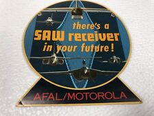Air Force Defense Contractor Decal Sticker Motorola SAW Receiver AFAL Radio