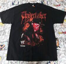 The Undertaker Deadman INC Atitude Era T-Shirt XL WWE WWF 2-Sided Graphic