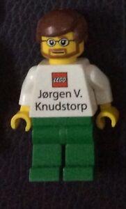 Lego Former CEO Minifigure Jørgen Vig Knudstorp Business Card extreme rare