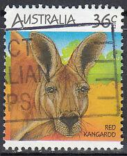 Australien gestempelt 36c Rotes Riesenkänguru Känguru Wildtier / 1640