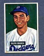 1951 Bowman #56 Ralph Branca - Brooklyn Dodgers  Ex/Mt+