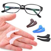 Silicone Anti Slip Temple Hooks For Glasses Spectacle Tip Frame Ear Holder B0Y6