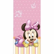 Disney Baby Minnie Mouse TABLECOVER 1st Birthday Party Supplies Buffet Tableware