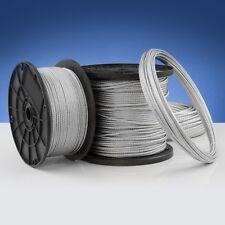 40m DRAHTSEIL 14mm 6x37 EN 12385 Seil Draht Stahlseil verzinkt Stahlseile Seile