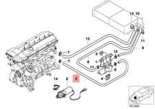 BMW E38 E39 Limousine zusätzlich Wasserpumpe Zulaufschlauch 8391007 64218391007