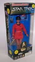 "Star Trek Uhura 9"" Action Figure Doll w/Red Dress Starfleet Edition Playmates"
