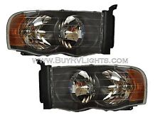 HOLIDAY RAMBLER ARISTA 2007 2008 2009 2010 BLACK HEADLIGHTS HEAD LIGHTS LAMPS RV