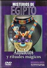 Amuletos y rituales mágicos. Misterios de Egipto Nº 3. DVD