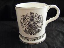 Coalport Queen Elizabeth II Silver Jubilee Commemorative Large Mug 1952 - 1977