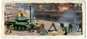 Forces of Valor - RUSSIAN T-34/85 AND SOLDIERS SET Eastern Front, 1945 1:72 8551