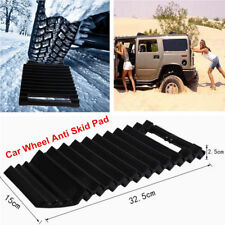 Car Wheel Tyre Anti-Skid Pad Tire Traction Mat Grip Snow Mud Sand Chains ABS DH